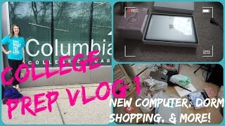 college prep vlog 1 dorm shopping new laptop and more