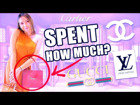LUXURY SHOPPING IN DUBAI *SHOPPING SPREE* | Mar