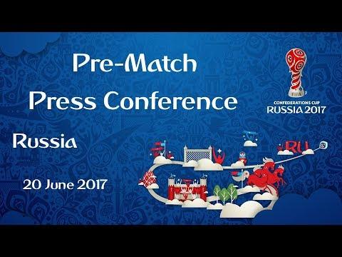 RUS vs. POR - Russia Pre-Match Press Conference