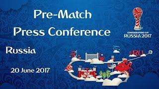 RUS vs. POR - Russia Pre-Match Press Conference thumbnail