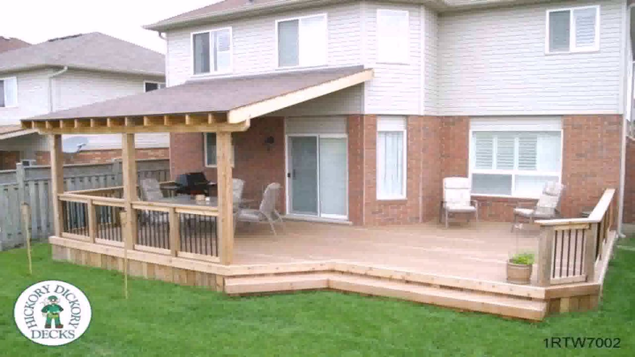 Simple Covered Patios
