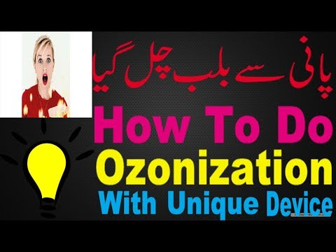 Ozonization Ozone Device Demo With Mineral Water | Electrict Demo Industrial Smoke Air Purifire