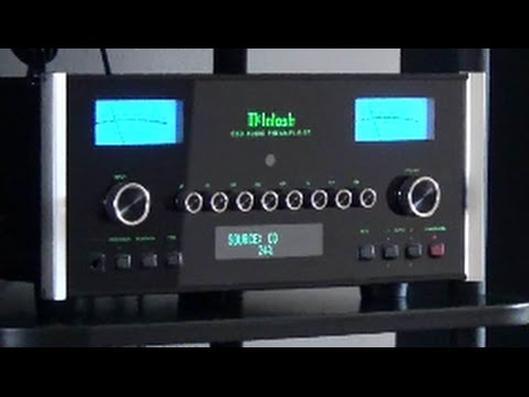 McIntosh C50 Stereo Preamp - Meters In Action !!!!