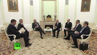 Владимир Путин посоветовал Сергею Лаврову и Милошу Земану бросить курить