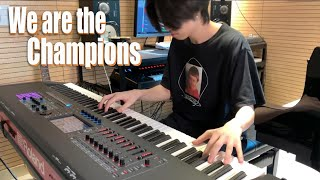 We are the Champions Piano Cover by Yohan Kim видео