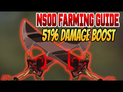 AQW- Necrotic Sword Of Doom (51% Damage Booster) Full Farming Guide 2020 + How To Merge NSOD