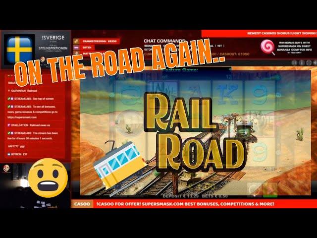 On the Road again!! RailRoad BIG hit!!
