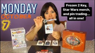 Frozen 2 Key, Star Wars merch, and pin trading...all in one!