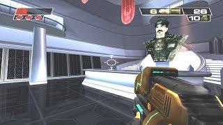 Red Faction 2: Walkthrough - Public Information Building [Mission 2] (Hard - Bonus) 4K UHD - 60FPS