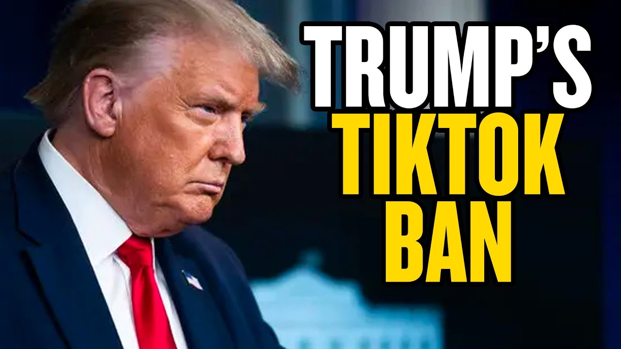 Trump Bans TikTok. Or Does He?