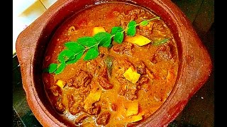 Nadan Beef Curry / Beef Curry Kerala Style