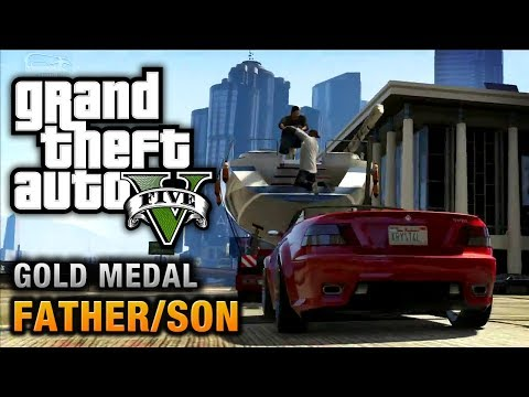 Gta 5 Mission #4 Father/son 100% Gold Medal