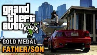GTA 5 Mission #4 Father/Son [100% Gold Medal Walkthrough]