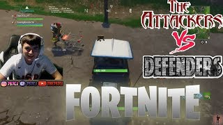 Attackers vs Defenders (Fortnite Mini Game) I REALLY CHOKED!!!