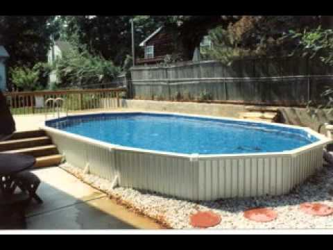 Above ground oval swimming pool ideas youtube - Above ground swimming pool removal ...