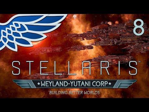 STELLARIS MEGACORP 2.2 | War Path Part 8 - Weyland Yutani Lets Play Gameplay