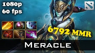 Meracle Naga Siren vs Mushi 6820 MMR Dota 2