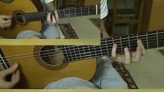 Amr Diab Ana 3ayesh Instrumental Guitar Tutorial