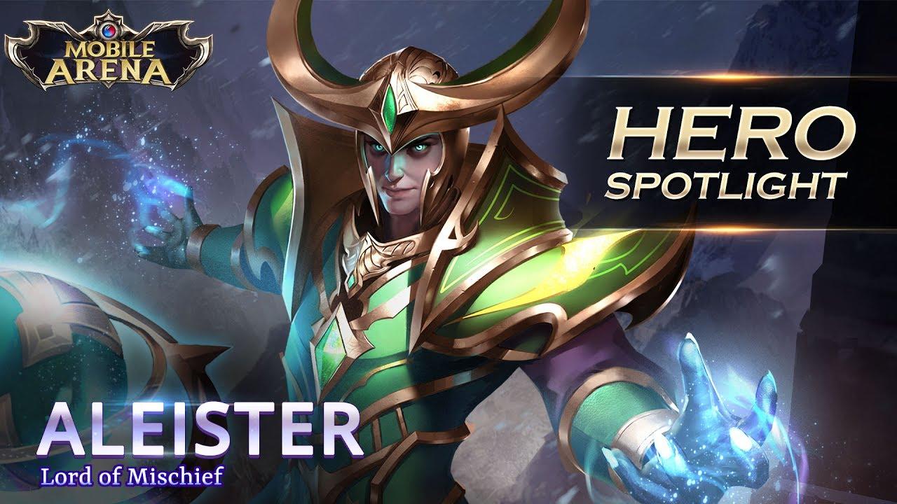 Aleister Hero Spotlight Garena Aov Arena Of Valor