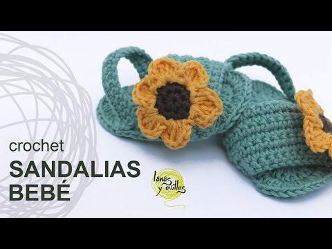 Bebé Crochet Para Zapatos A El De Hacer VeranoManualidades Cómo FKT13Jl5uc