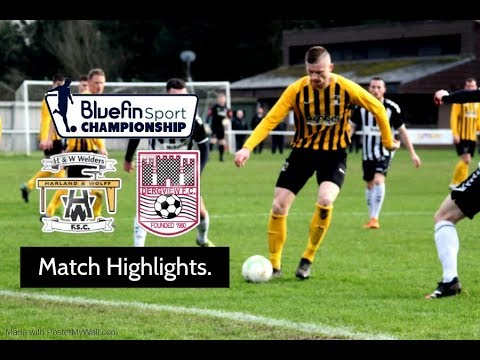 H&W Welders Dergview Goals And Highlights