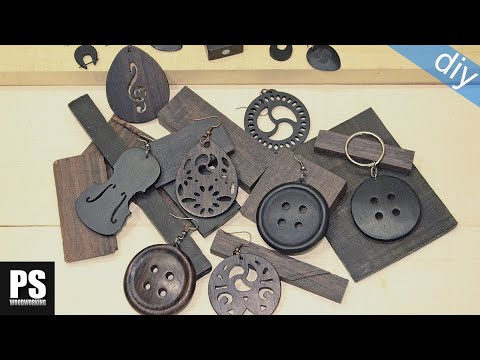 How to make wood jewelry