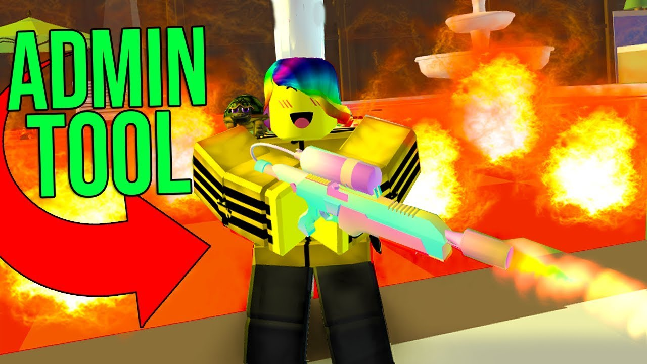 THE OWNER JOINED AND GAVE ME AN ADMIN ONLY TOOL! (Roblox Yard Simulator)
