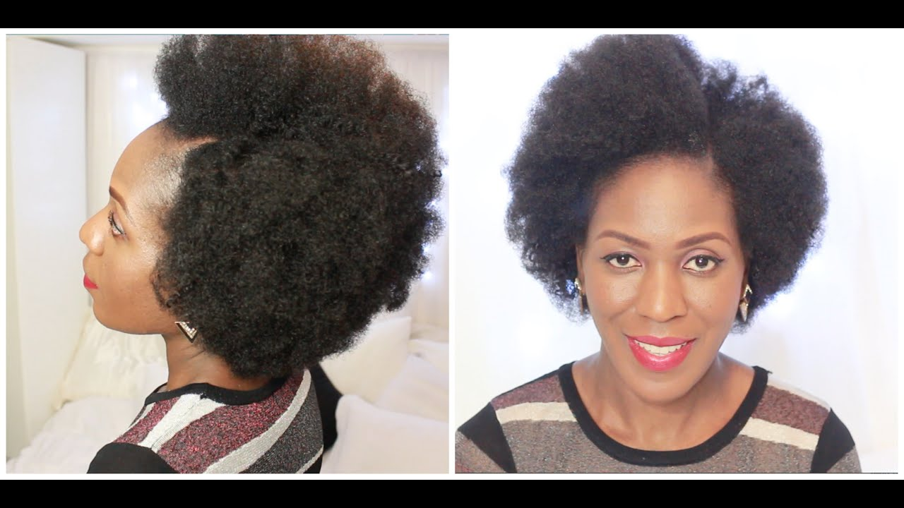 How to do tapered kinky crochet braids - YouTube