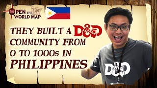 They Built a D&D Community from 0 to 1000s in Philippines (with Greasy Snitches)