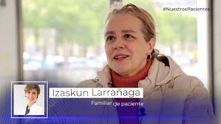 """Izaskun Larrañaga: """"Siempre nos hemos sentido arropadas y protegidas por todo el personal"""""""