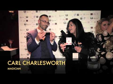 ART IN FUSION TV - Interview with magician Carl Charlesworth