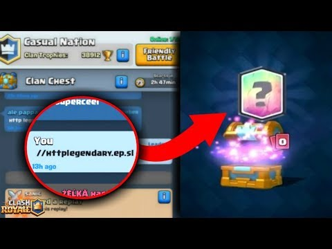 OMG! SECRET CODE TO GET FREE LEGENDARYS IN CLASH ROYALE!! DOES IT WORK? CLASH ROYALE MYTHS!