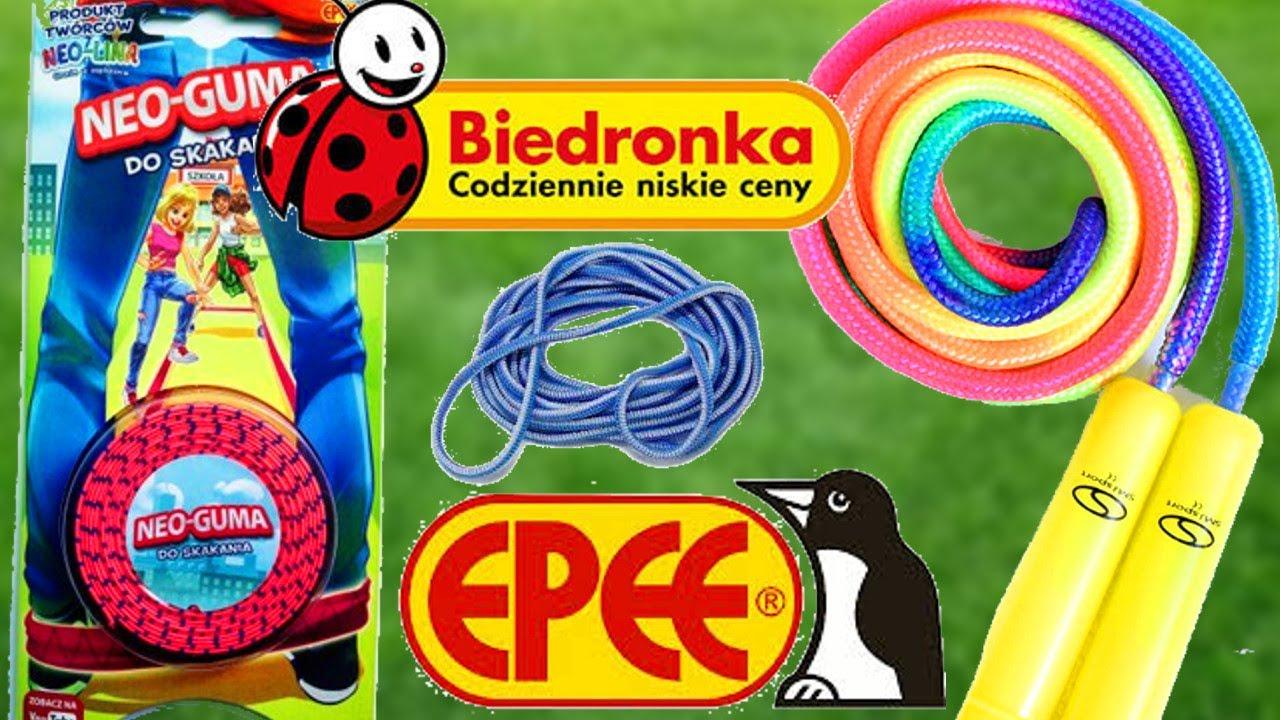 NEO GUMA DO SKAKANIA 🤸🏻 GRA W GUMĘ 🏆 zabawki z Biedronki 🐞 CrazyMonia