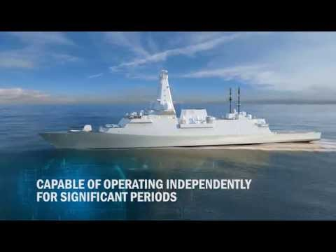 BAE Systems Type 26 Global Combat Ship - 2015