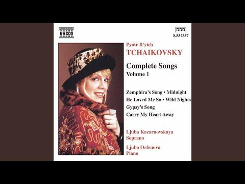 7 Romances, Op. 47: No. 6. Den' li tsarit? (Does the day reign?) (text by A.N. Apukhtin) :...