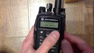 Программирование Motorola DP3601 с клавиатуры. Front Panel Programming (FPP) for Motorola