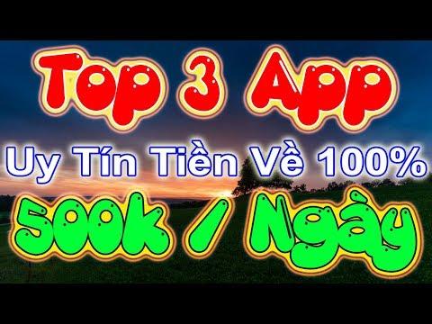 Top 3 App Kiếm Tiền 500k Mỗi Ngày Uy Tín Nhất - LVT | Kiếm Tiền Online