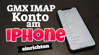 GMX IMAP Konto am iPhone einrichten
