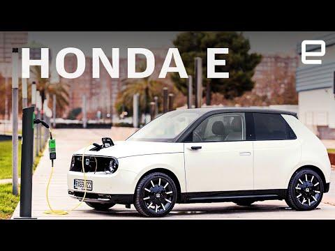 Honda E first