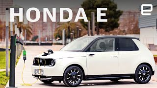Honda E first drive: adorable, futuristic and fun to drive