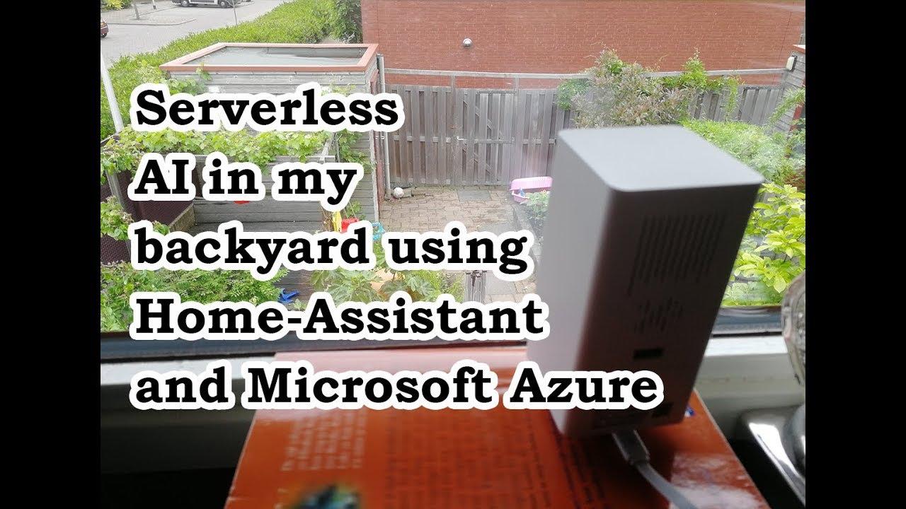 Serverless AI in my backyard