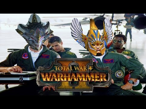 High Elves & Lizardmen | PHOENIX ACTION - Total War Warhammer 2 Multiplayer Battle #2