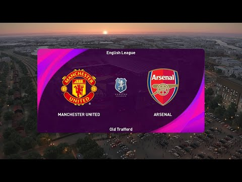 Manchester United vs Arsenal | eFootball PES 2021 SEASON UPDATE Gameplay | Steam PC |