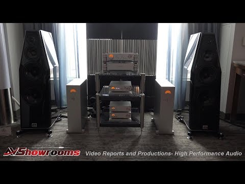 Musical Artisans, NAGRA HD amplifiers, Kharma loudspeakers, Argento Cables AXPONA 2018