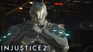 Injustice 2 Online Beta - Vman's Online Matches with Batman