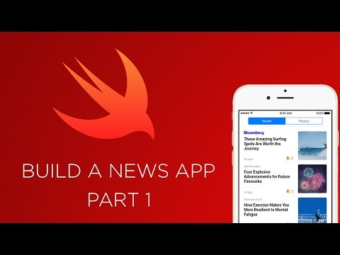 IOS FOR BEGINNERS - NEWS APP WITH SWIFT (Part 1)