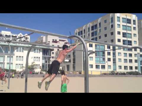 Santa Monica Pier Monkey Bars-