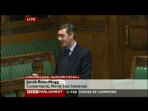 "Jacob Rees Mogg wants M. Thatcher to be ""deified"" in House of Commons 21 February 2012"