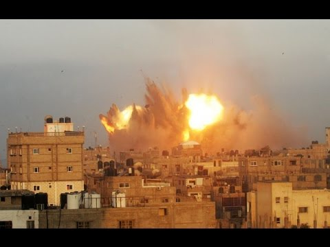 Psalm 83 : The Super Moon rises as Israel prepares for all out War with Hamas (Jul 12, 2014)