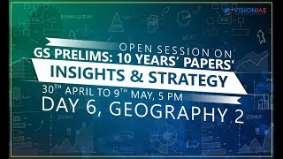 GS Prelims : 10 Years' Papers' Insights & Strategy | Part 06 - Geography